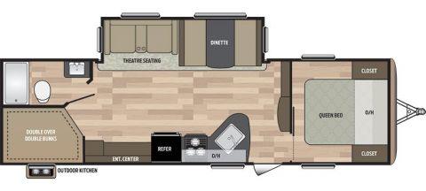 New 2017 Springdale 270LE Travel Trailer