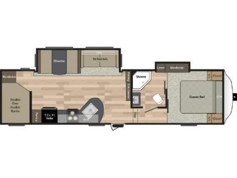 New 2018 SPRINGDALE 286FWBH Fifth Wheel